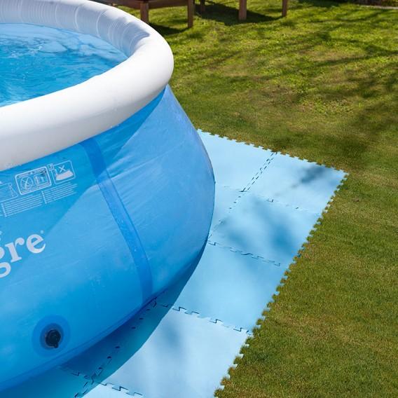 Tapiz de suelo para piscinas desmontables gre gre for Piscinas circulares desmontables