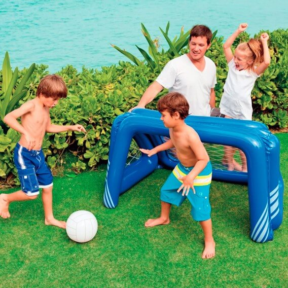 Porter a hinchable para piscina y jard n intex 58507np for Piscina hinchable jardin