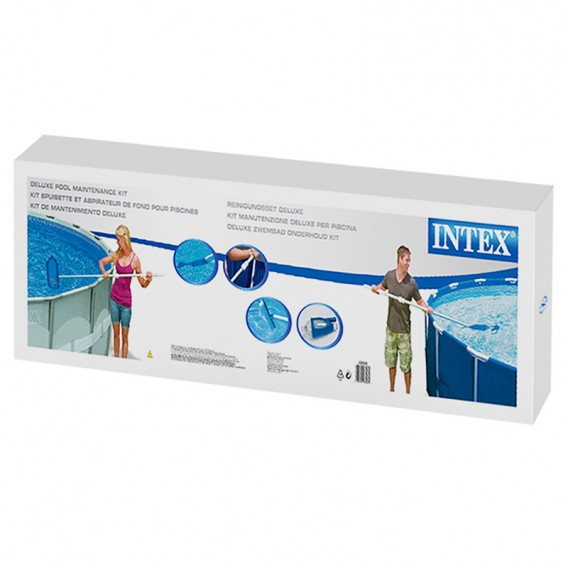 Kit mantenimiento piscinas intex deluxe 28003 intex for Precio mantenimiento piscina
