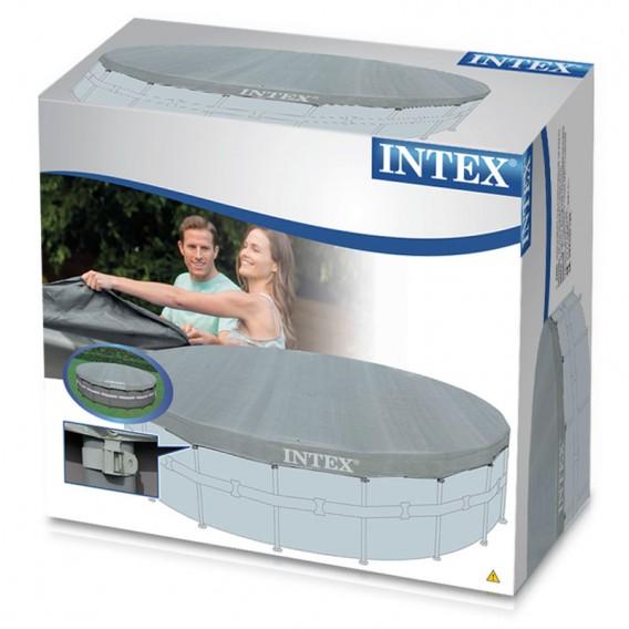 Cobertor piscina intex redonda deluxe cubiertas de for Precio cobertor piscina