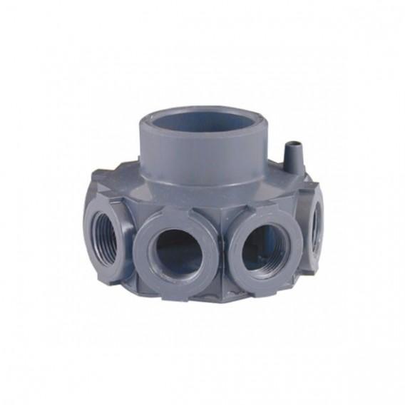 """Cabezal colector PVC para filtros para brazos de 1"""""""