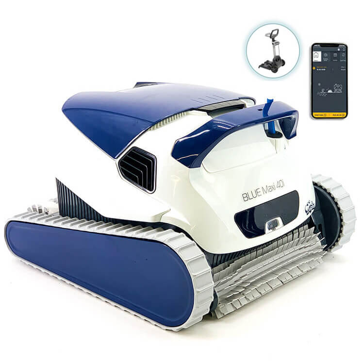 Dolphin Blue Maxi 40i Robot Pool Cleaner