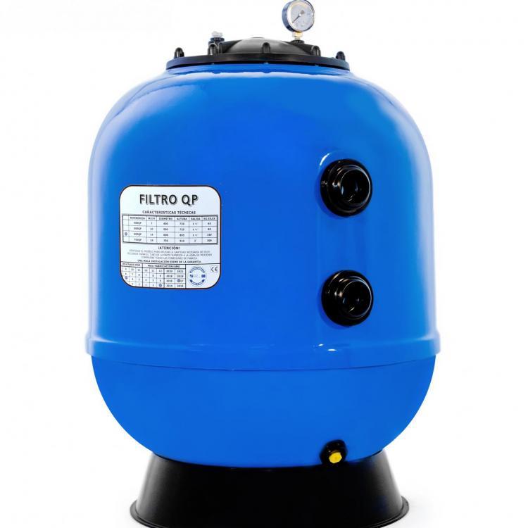 Filtro laminado Azur con válvula lateral QP