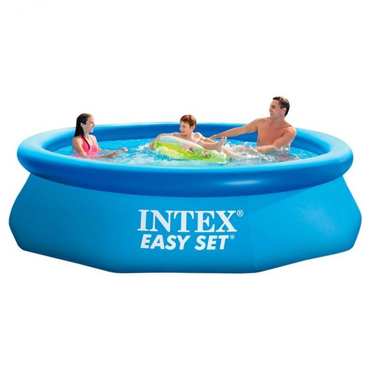 Intex Easy Set piscine 244 x 76 cm NOUVEAU /& NEUF dans sa boîte