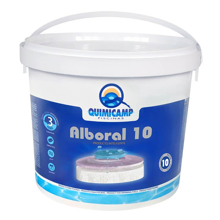 Quimicamp - Cloro Alboral 10 Efectos Tabletas 250gr, 5 kg