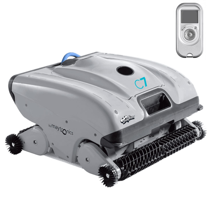 Robot Pool Cleaner Dolphin C7 public pools | Dolphin Public Swimming ...